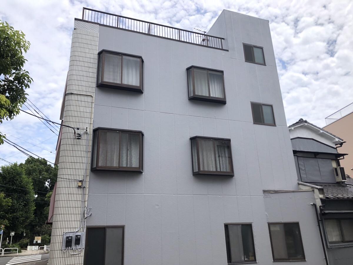外壁塗装、屋上防水工事(東京都大田区)