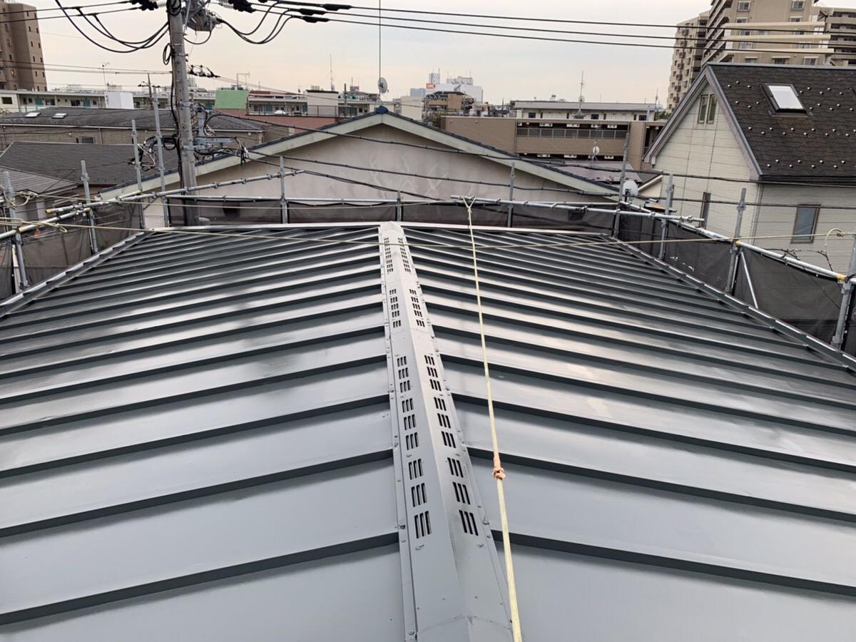 屋根塗装工事(東京都大田区)
