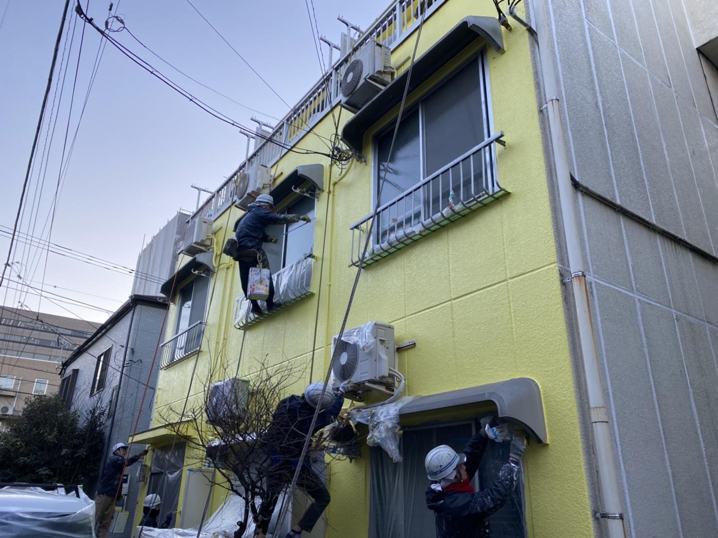 外壁塗装工事(東京都大田区)