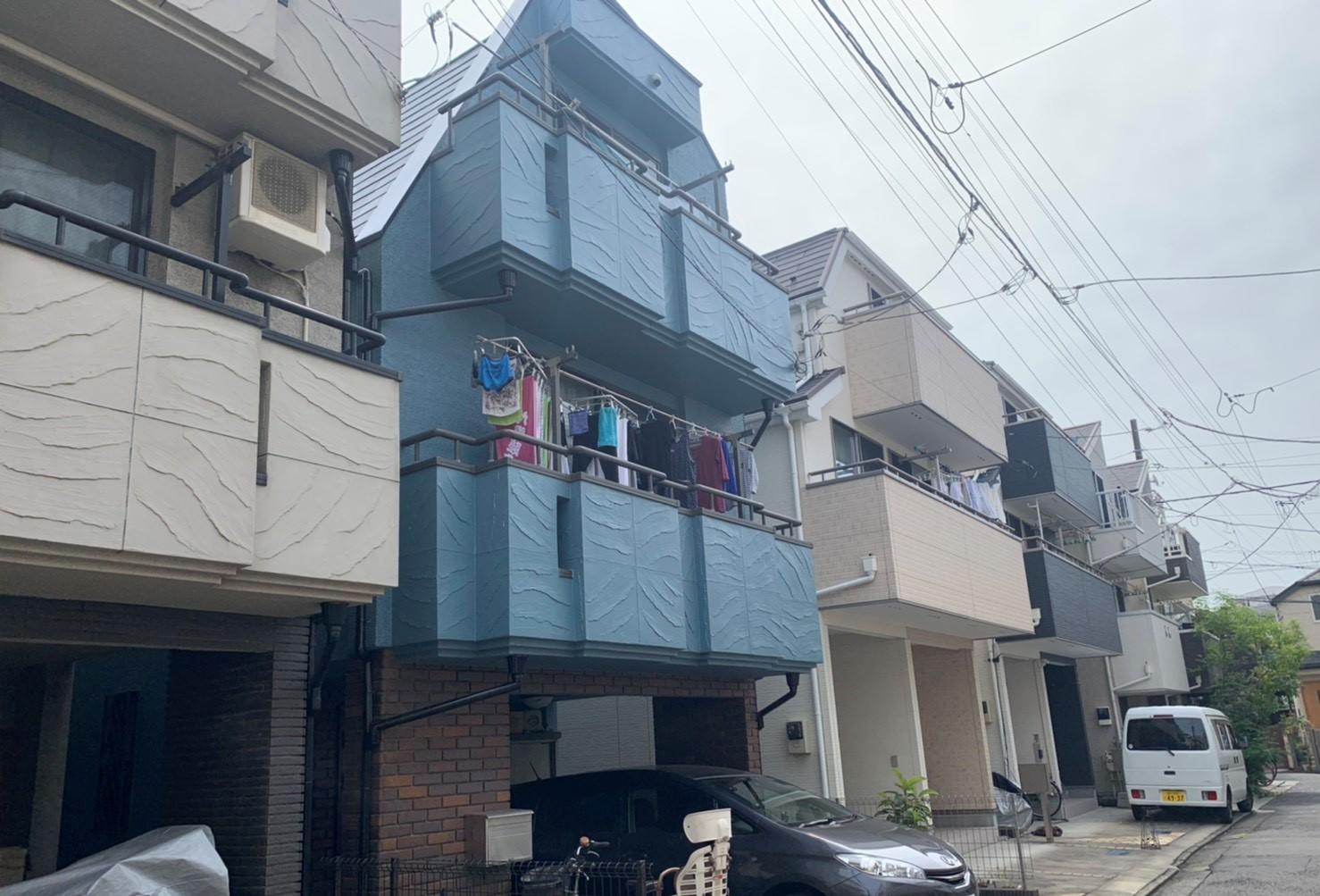 屋根、外壁塗装工事(東京都大田区)